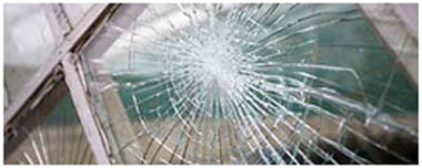 Tower Hamlets Smashed Glass